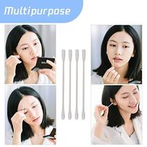 800pcs Cotton Swabs, Double Tipped Cotton Buds with Paper Stick, 4 Packs of 200  image 7