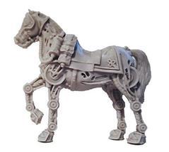 28mm Miniature Accessories Mechanical Horse (2)