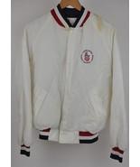 VTG USA Olympics NYLON Jacket L TRAINING CENTER White Lee Western Americ... - $24.75