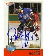 Peter Hogan autographed Hockey Card (Oshawa Generals) 1998 Bowman Rookie... - $14.00