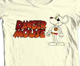 Danger Mouse T-shirt Free Shipping cartoon retro 1980's vintage 100% cotton tee image 2