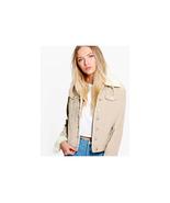Boohoo Sally Slim Fit Borg Collar Cord Jacket Size US 10 NWT - $39.59