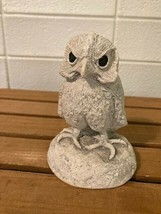 "Bekka Mt. St. Helen's Figurine Owl Vintage Genuine Volcanic Ash approx 4"" - $7.25"