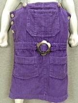 In Design Girls Purple Corduroy Jumper 6 - $25.00