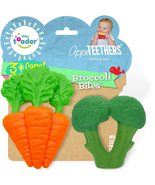 Little Toader - Baby Teether Toys – Appe-TEETHERS Broccoli teether and C... - $19.99