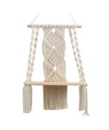 Hand-Woven Tapestry Shelf - $36.00