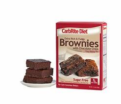 Doctor's CarbRite Diet – Sugar Free Chocolate Chip Brownie Mix, 11.5 oz