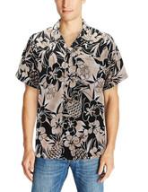 Men's Casual Tropical Hawaiian Luau Aloha Revere Beach Button Up Dress Shirt image 2