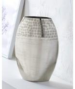 Hammered Nickel Vase  - $84.99