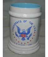 VTG Presidents Of The USA Coffee Mug Stein Washington To Nixon 1969 Japa... - $24.75