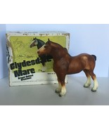 Breyer Traditional Horse Clydesdale Mare No 83 Chestnut Original Box - $42.49