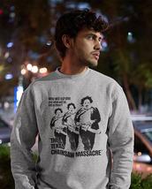 Texas Chainsaw Massacre long sleeve t-shirt retro horror movie graphic tee shirt image 3