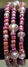 Wrap Bracelet - Pink Rainbow - $12.00