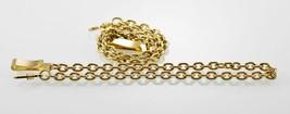 Unisex Edelstahl Gold Taschenuhr Ersatz Ketten Fobs 14 - $10.09