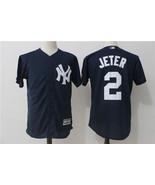 New York Yankees Baseball jersey Jeter # 2 MLB Cool Base Player sale - $49.90