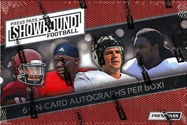 2014 Press Pass Showbound Football Hobby Box - Factory Sealed! - $300.00