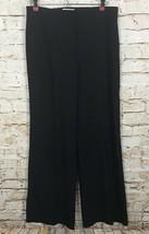 Nina Ricci 39 Avenue Montaigne-Paris Pants Wool Silk Blend Blue Size US 4 EU 36 - $25.25