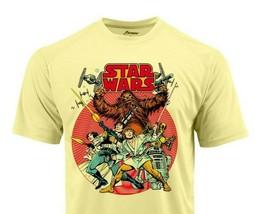 Star Wars Dri Fit Comic Book T-shirt moisture wick retro SPFgraphic retro tee image 1
