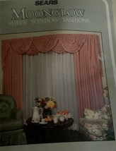 "Brand New In Package Moonglow Sheer 60"" By 84"" Curtain Panel, Cameo - $19.79"