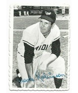 1969 Topps Deckle Edge Insert #1 Brooks Robinson, Baltimore Orioles - $2.65