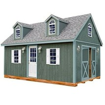 Man Cave - She Shed - Outdoor Wooden Cabin - 12X16ft Floor and Hardware ... - $11,054.22