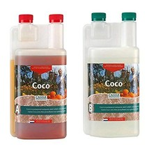 CANNA CA1260+CA1270 Coco A & B, 1 L, Set of 2 Plant Growth, White/Brown