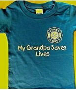MY GRANDPA SAVES LIVES with Maltese Cross - Child's T-Shirt - OVERSTOCK ... - $8.99