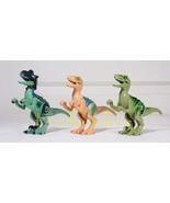 3 Set Blue Charlie Echo Raptor Dinosaur Minifigure Jurassic World BEST Q... - $19.99