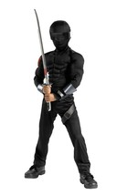 G.I. Joe Snake Eyes Musc 4-6  Costume - $39.88
