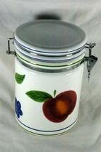 Certified International Fruit Sugar Locking Lid Canister - $10.39