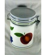 Certified International Fruit Sugar Locking Lid Canister - $9.44