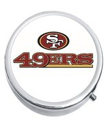 San Francisco 49ers Football Medicine Vitamin Compact Pill Box - $9.78