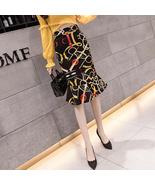 Sexy Fishtail Printing High Waist Women Skirt - $35.00