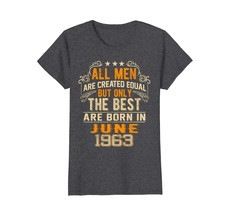 Uncle Shirts -   Retro All Men The Best June 1963 55th Birthday Gifts 55... - $19.95+