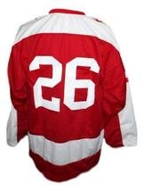 Custom Name # Greensboro Generals Retro Hockey Jersey New Red Any Size image 2