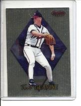 (b-30) 1999 Bowman's Best Gold Refractor #78: Tom Glavine  - $2.50