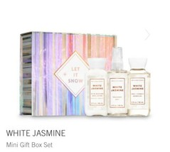 Bath & Body Works White Jasmine Mini Gift Box Set Easel-Style Box With R... - $19.75