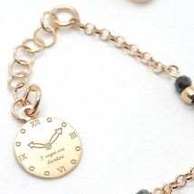 Silver 925 Bracelet Laminated Gold Pink le Favole Star Ag-905-br-63 image 3