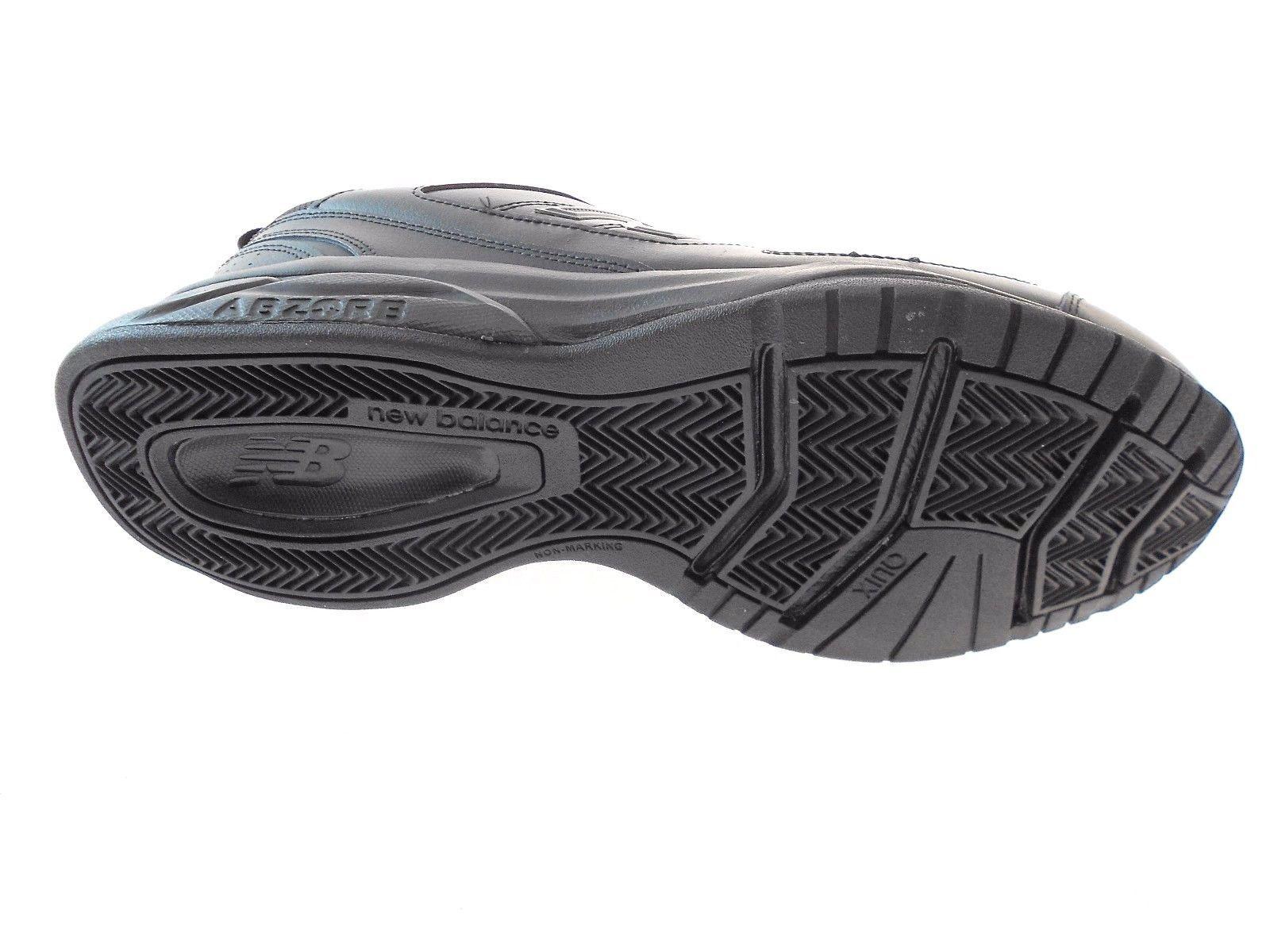 NEW BALANCE 623v3 MEN'S BLACK LEATHER SNEAKER, #MX623AB3