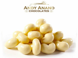 Andy Anand White Chocolate Cashews Gift Boxed 1 lbs With Free Air Shipping - $26.84