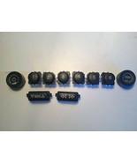 GM Delco CD radio partial knob & button set.Stereo worn? Solve wear w/ O... - $27.09
