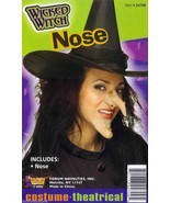 WICKED WITCH NOSE WITH WART HALLOWEEN COSTUME WITCH ACCESSORY - $4.88