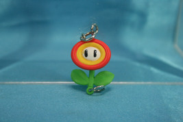 Takara Tomy ARTS Mario Kart 7 Item Collection Mini Charm Figure Fire Flower - $19.99