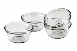 Anchor Hocking 6-Ounce Glass Custard Cups, Set of 4 - $9.49