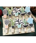 30pcs lovely Planet Wooden Photo Clips,Paper Clip,Birthday Party Gift Fa... - $7.20