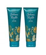 Bath & Body Works Autumn Nights Ultra Shea Body Cream  8 oz x2 - $68.99