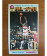 1976-77 Topps NBA Basketball Elvin Hayes All-Star #133  - $4.95