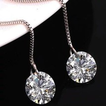 Catch Your Star - Sterling Silver 925 Earrings - $19.87