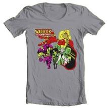 Adam Warlock Infinity Watch T-shirt retro cotton graphic tee Marvel Bronze Age image 2