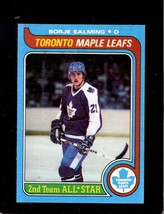 1979-80 Topps #40 Borje Salming Nm Maple Leafs As Hof *X5101 - $3.96